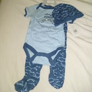 NWT kyle and deena 3 piece boys outfit